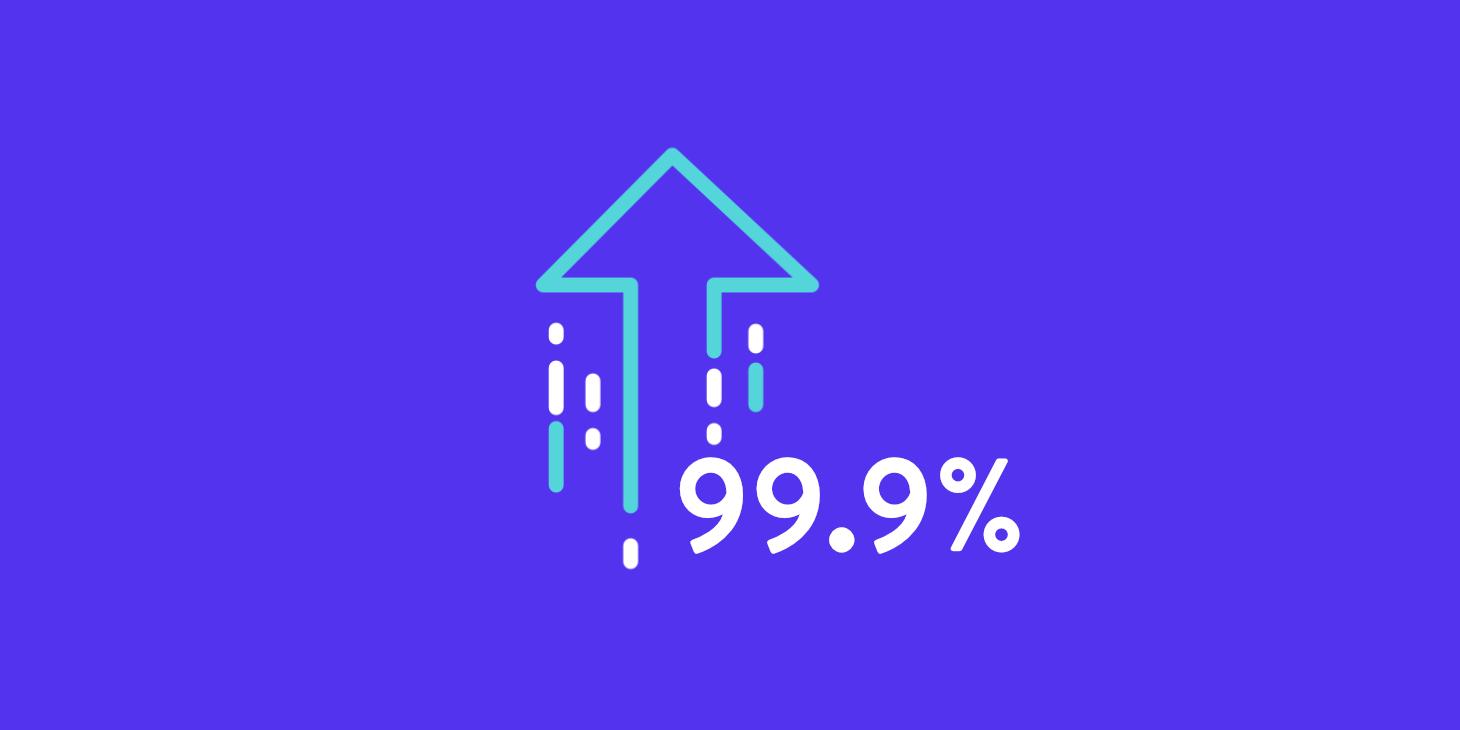 99%-uptime